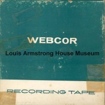 Image of 1987.3.0046 - [Reel-to-reel tape recorded by Louis Armstrong]