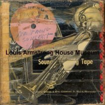 Image of 1987.3.0496 - [Reel-to-reel tape recorded by Louis Armstrong]