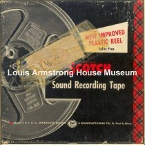 Image of 1987.3.0005 - [Reel-to-reel tape recorded by Louis Armstrong]