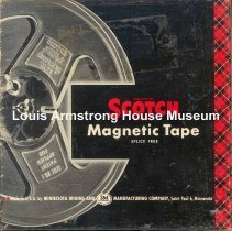 Image of 1987.3.0522 - [Reel-to-reel tape recorded by Louis Armstrong]