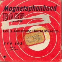 Image of 1987.3.0562 - [Reel-to-reel tape recorded by Louis Armstrong]