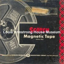 Image of 1987.3.0592 - [Reel-to-reel tape recorded by Louis Armstrong]