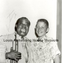 Image of 1995.4.4 - Louis and John Newmann in 1954