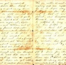 Image of Coutts letter to sister 1863 i