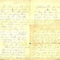 Image of 1865 Letter