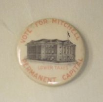 Image of 1944.002.00141 - Button, Political