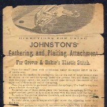 Image of Handbill, Johnstons's Gatherin