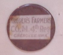 Image of 1984.043.00047 - Button, Military