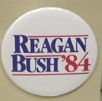 Image of 1984.068.00001 - Button, Political