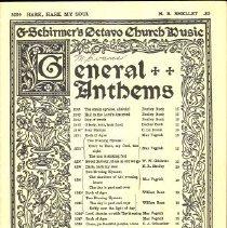 Image of 1986.038.02394 - Music, Sheet