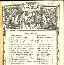 Image of 1986.038.02396 - Music, Sheet