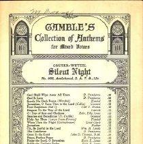 Image of 1986.038.02399 - Music, Sheet
