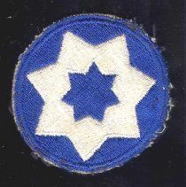 Image of 1989.082.00002 - Patch, Military