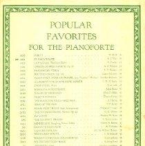Image of 1995.020.00002 - Music, Sheet