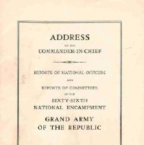Image of Booklet, 66th National Encampm