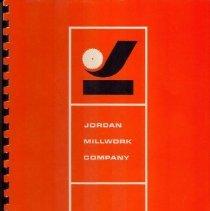 Image of Booklet, Jordan Millwork Compa