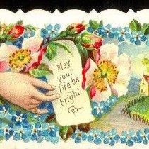Image of Card, Calling, Vivian Hildebra