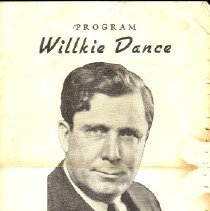 Image of Program, Willkie Dance