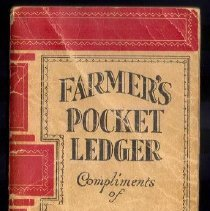 Image of Ledger, Farmer's Pocket Ledger