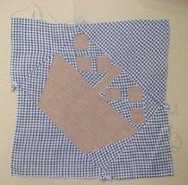 Image of 2006.013.00017 - Block, Quilt