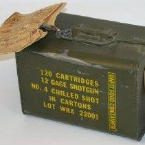 Image of 2008.029.00001 - Box, Ammunition