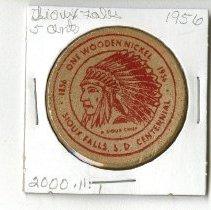 Image of 2000.011.00001 - Token, Commemorative