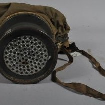 Image of Ventilator end of the gas mask