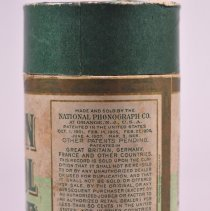 Image of Storage tube's last patent was 1908