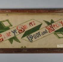 Image of 1957.032.008 - Embroidery, Punched Paper