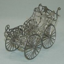 Image of Lead Miniature Baby Carriage