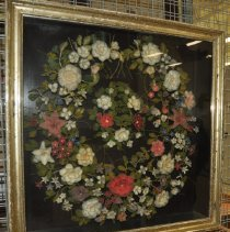 Image of 1960.012.001 - Wreath, Floral