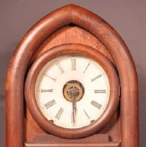 Image of 1961.003.004ab - Clock, Wall