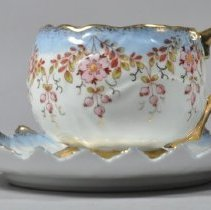 Image of 1961.018.003ab - Cup, Mustache