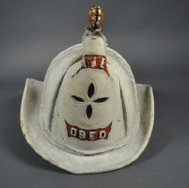 Image of 1962.022.001 - Helmet, Firefighter's