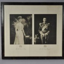 Image of 1965.007.019 - H.M. Queen Mary and H.M. King George V