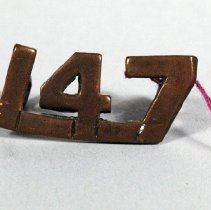 Image of 1972.022.022 - Badge, Military