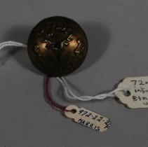 Image of 1972.022.026 - Button, Military