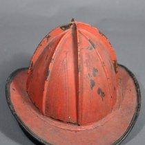 Image of 1974.053.009ab - Helmet, Firefighter's