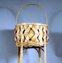 Image of 1974.083.005 - Basket, Needlework
