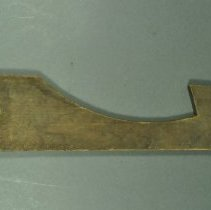 Image of 1982.060.064 - Pattern, Woodworking