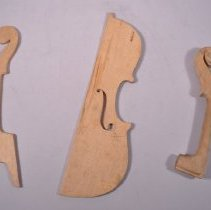 Image of 1983.033.001 - Pattern, Woodworking