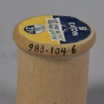Image of 1983.104.006 - Spool, Sewing