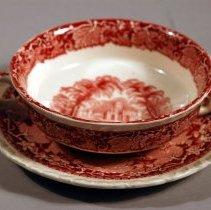 Image of 1988.024.008ab - Bowl, Soup