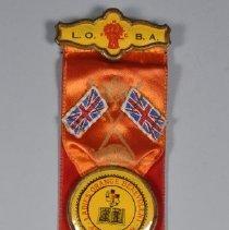 Image of 1993.024.020ab - Ribbon, Fraternal