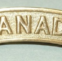 Image of 1994.057.014ab - Badge, Military