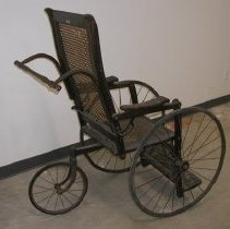 Image of Three-wheeled Wheelchair