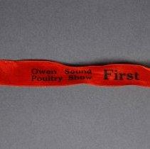 Image of 2008.054.063 - Ribbon, Prize