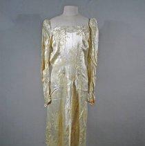 Image of 2009.007.003 - Dress, Wedding
