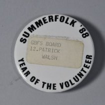 Image of 2010.028.002 - Badge, Identification