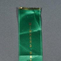 Image of 2012.008.003 - Ribbon, Commemorative